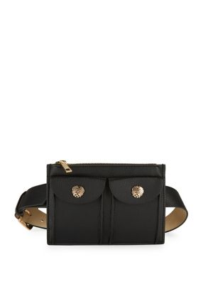Textured Faux Leather Belt Bag by Vince Camuto