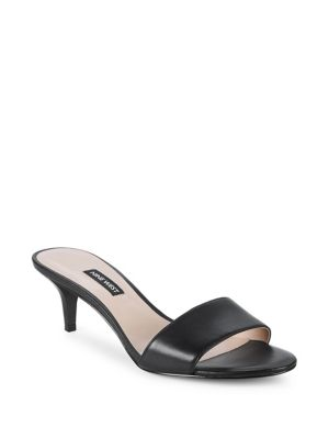 Lynton Leather Sandals by Nine West
