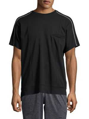 Extended Crewneck Tee by Calvin Klein Performance