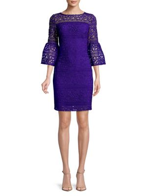 Bell Sleeve Sheath Dress by Lauren Ralph Lauren