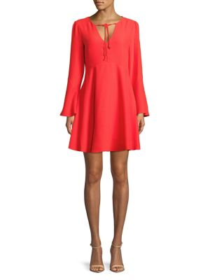 Long Bell Sleeve Dress by Sam Edelman