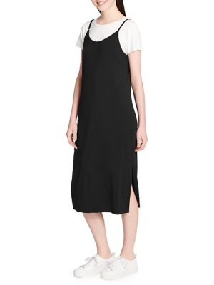 Skinny Strap Dress by Calvin Klein