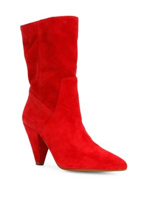 Labella Suede Mid Calf Boots by Kenneth Cole New York