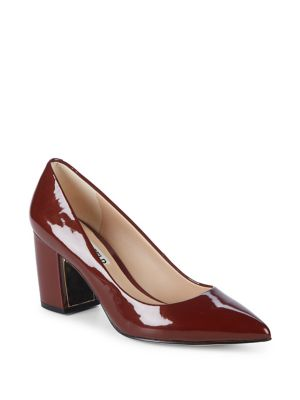 Addie Patent Leather Pumps by Karl Lagerfeld Paris