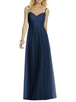 Sleeveless A Line Gown by After Six
