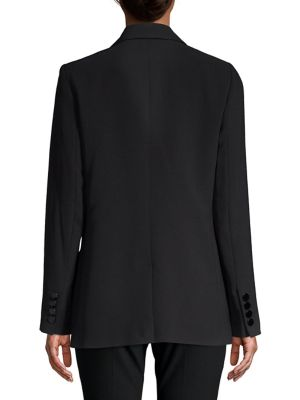 One Button Long Jacket by Karl Lagerfeld Paris