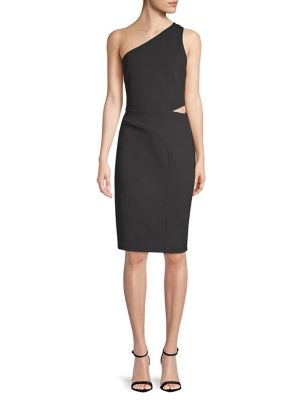 One Shoulder Side Cutout Dress by Laundry By Shelli Segal