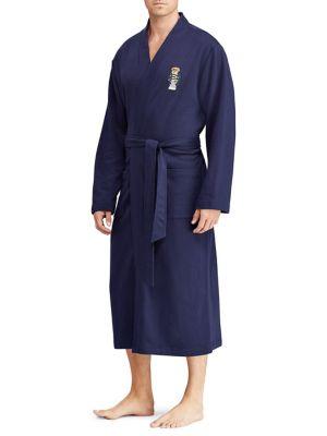 Polo Bear Fleece Kimono Robe by Ralph Lauren