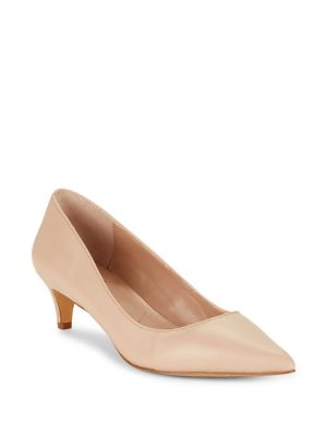 Kitten Leather Pumps by Charles By Charles David
