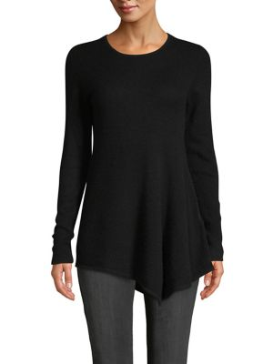 Asymmetrical Cashmere Sweater by Lord & Taylor