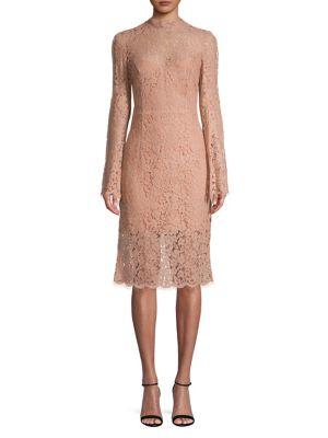 Lace Sheath Dress by Bardot