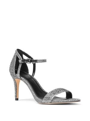 Simone Embellished Ankle Strap Sandals by Michael Michael Kors