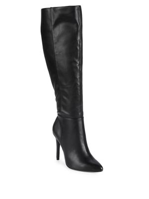 Dallen Leather Tall Boots by Charles By Charles David