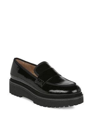Shelton Patent Leather Loafers by Franco Sarto