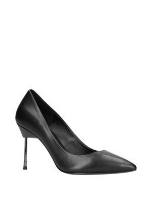Britton 90 Leather Stilettos by Kurt Geiger London