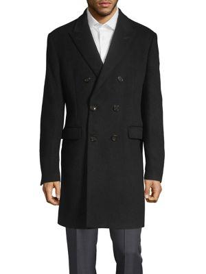 Double Breasted Overcoat by Lauren Ralph Lauren