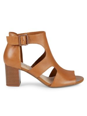 Devheide Caged Block Heel Sandals by Clarks