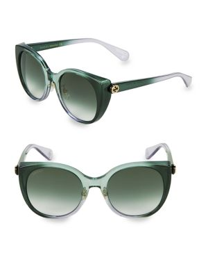 51 Mm Cat Eye Sunglasses by Gucci