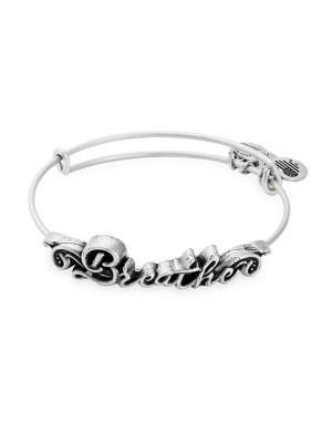Breathe Spiritual Armor Bangle Bracelet by Alex And Ani