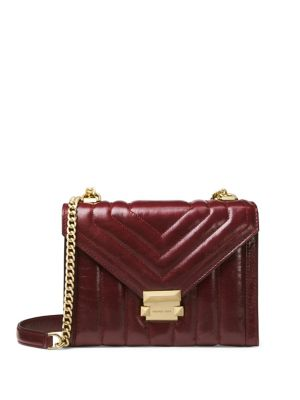 Whitney Large Quilted Leather Shoulder Bag by Michael Michael Kors