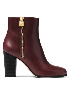 Margaret Leather Booties by Michael Michael Kors