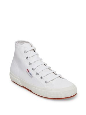 2795 Cotu Canvas High Top Sneakers by Superga