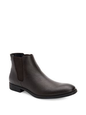 Carter Leather Chelsea Boots by Calvin Klein