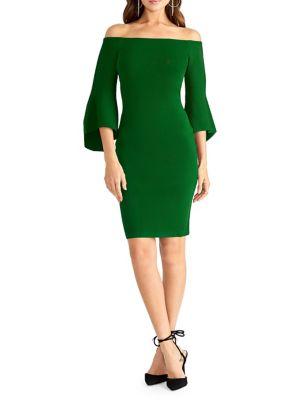 Lynette Off The Shoulder Sheath Dress by Rachel Rachel Roy