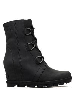 Joan Ii Leather Wedge Boots by Sorel