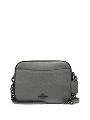Rivet Leather Camera Bag by Coach