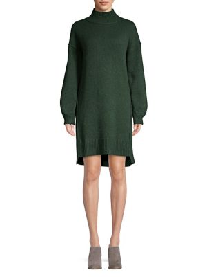 Balloon Sleeve Cashmere Dress by Ply Cashmere