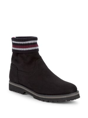 Striped Cuff Boots by Tommy Hilfiger