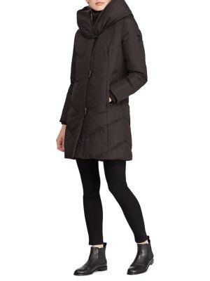 Classic Hooded Jacket by Lauren Ralph Lauren