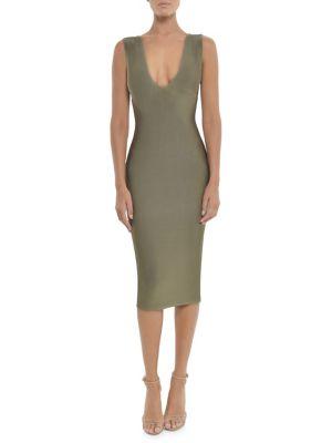 V Neck Solange Dress by Misha Collection