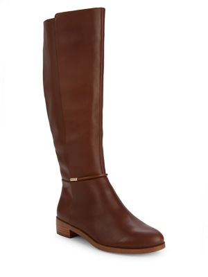 Polly Tall Leather Boots by Imnyc Isaac Mizrahi
