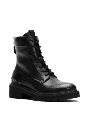 Allison Combat Lace Up Boots by Frye