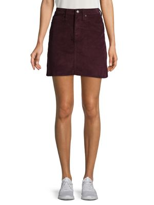 Corduroy A Line Skirt by Calvin Klein Jeans