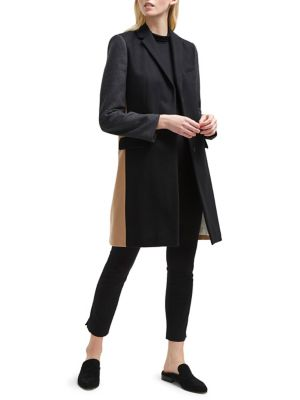 Platform Colorblock Coat by French Connection