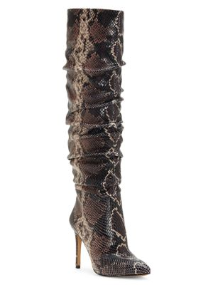 Kashiana Slouchy Tall Leather Boots by Vince Camuto