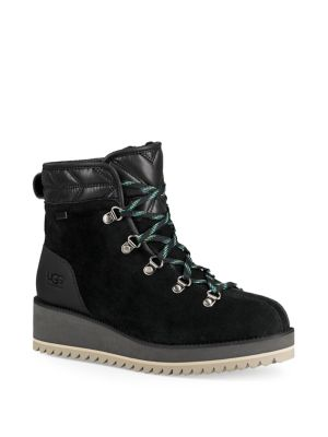 Birch Lace Up Shearling Leather Boots by Ugg