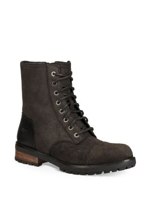 Kilmer Ii Ug Gpure And Sheepskin Lined Leather Boots by Ugg