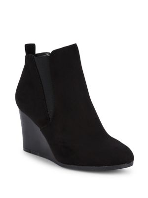 Avril Wedge Heeled Booties by Lexi And Abbie