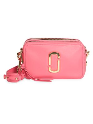 The Softshot 21 Leather Crossbody Bag by Marc Jacobs