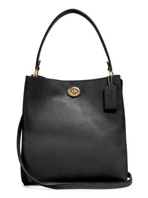 Charlie Leather Bucket Bag by Coach