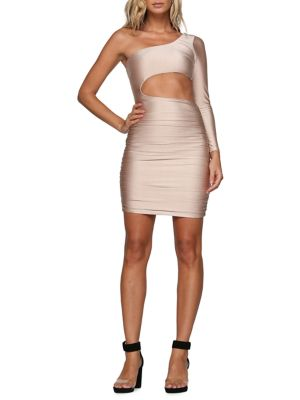 Sammi One Shoulder Bodycon Dress by Tiger Mist