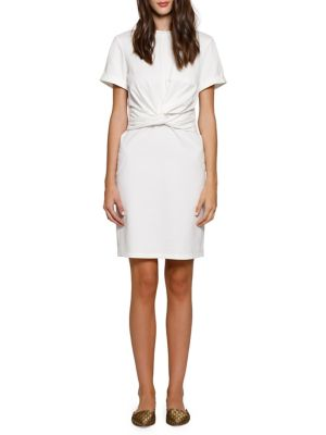 Trish Twisted T Shirt Dress by Walter Baker