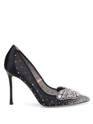 quintana-embellished-satin-stiletto-pumps by badgley-mischka
