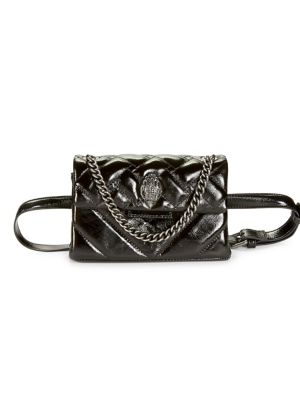 Kensington Quilted Leather Belt Bag by Kurt Geiger London