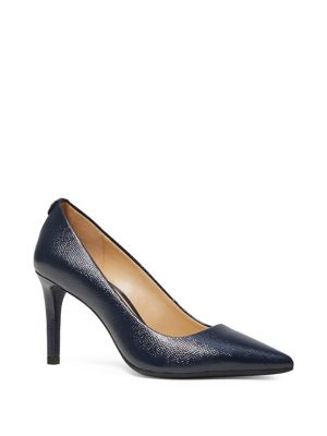 Dorothy Point Toe Leather Pumps by Michael Michael Kors