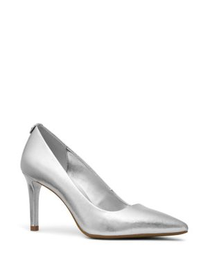 Dorothy Metallic Leather Pumps by Michael Michael Kors